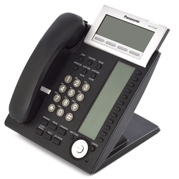 Panasonic KX-NT366 IP Telephone in Black