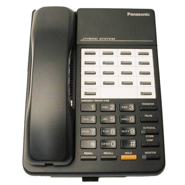 Panasonic KX-T7050 Telephone in Black