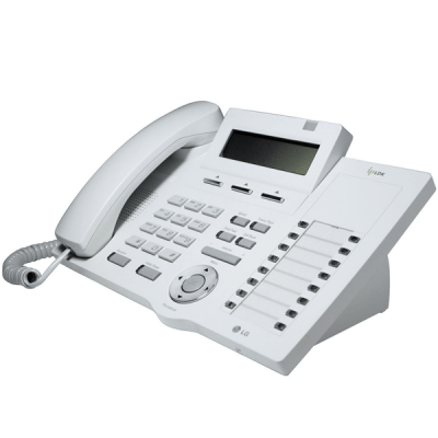 LG LDP-7016D Telephone in White with LCD Display