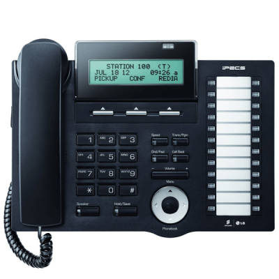LG LDP-7024D Telephone in Black