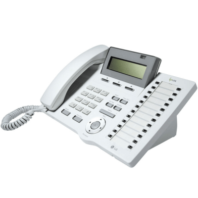 LG LDP-7024D Telephone in White with LCD Display