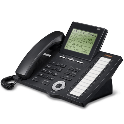 LG LDP-7024LD Telephone in Black with Large LCD Display