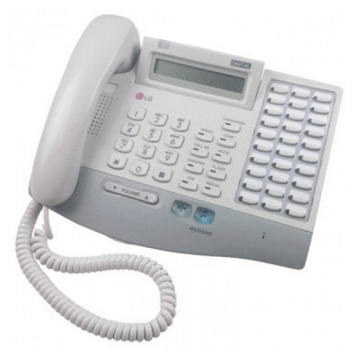 LG LKD-30B Telephone in White