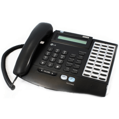 LG LKD-30B Telephone in Black