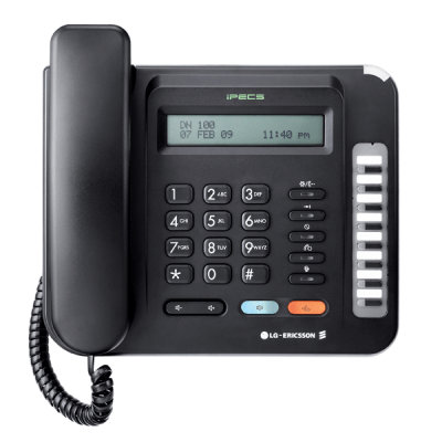 LG LDP-9008D Telephone in Black