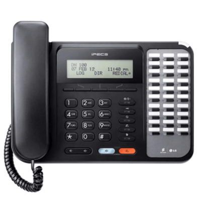 LG LDP-9030D Telephone in Black