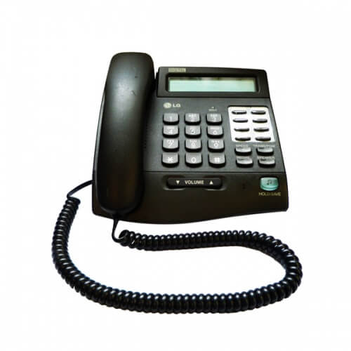LG LKD-8DS Telephone in Black