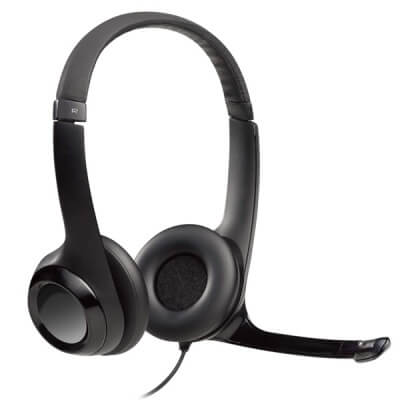 Logitech H390 Stereo USB PC Computer Headset