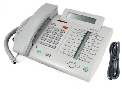 Meridian M3820 Telephone in Dolphin Grey