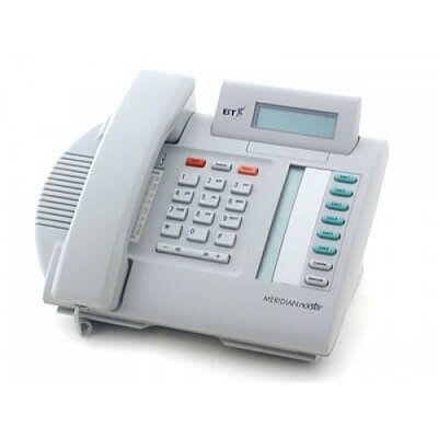 Meridian M7100N Telephone in Dolphin Grey