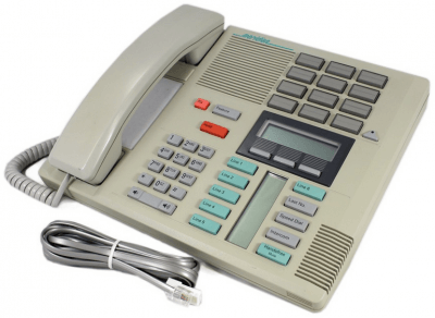 Meridian Norstar M7310 Telephone in Dolphin Grey
