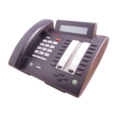 Meridian M3820 Telephone in Charcoal Black