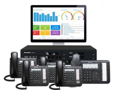 Panasonic NS700 Business Telephone System + 20 Handsets