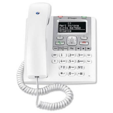 BT Paragon 550 Telephone in White