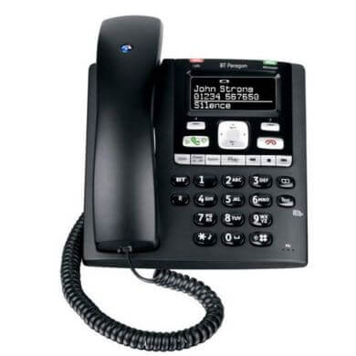 BT Paragon 650 Telephone in Black