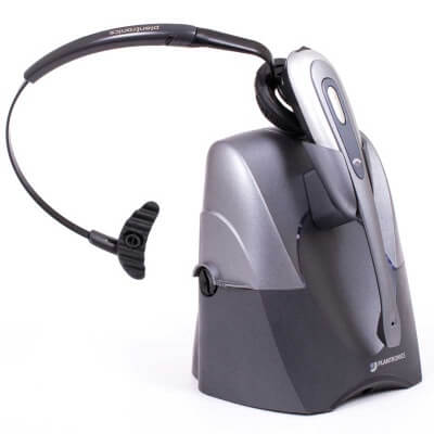 Plantronics CS60 Cordless Headset and HL10 Remote Lifter
