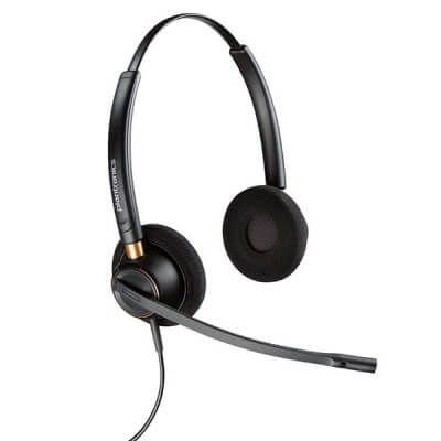 Polycom Soundpoint IP 450 Plantronics HW520N Headset